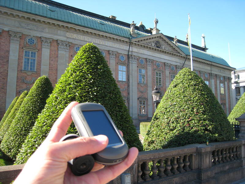 35mm geocache canister for Riddarhuset