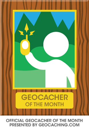 Featured Geocacher of the Month Icon