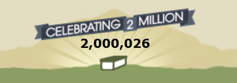 2 million reached!