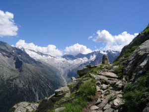 Typical Path before Olperer Hut. Photo by geocache owner DerPate