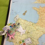 The 13 Years Lisboa pinboard. Can you find Bryan's pin?