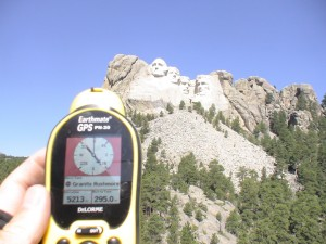 Maybe the next addition to the monument? Probably not, but a GPS enthusiast can dream. Photo by geocacher goodguys101