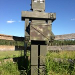 A great example of thinking outside the ammo can from geocacher Ecylram.