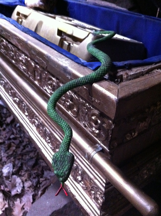 Why did it have to be snakes?! Photo by geocacher Uncle Fuzzy