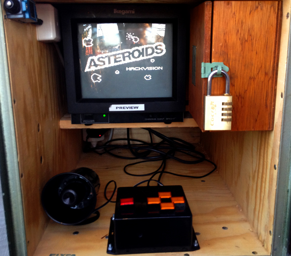 Your geocaching skills will get you here, but your arcade skills will get you to the logbook. Photo courtesy of CO Svarta-Baskern