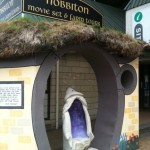 A Hobbiton monument. Photo by geocacher quinella.