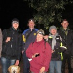 A group of happy geocachers on their adventure. Photo by geocacher Bandit2504