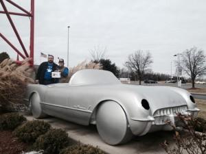 A Corvette mockup.