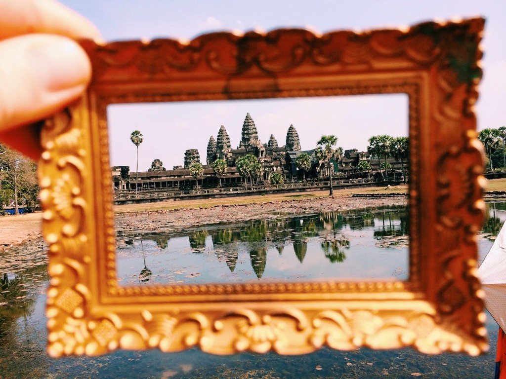 Angkor Wat Temple Siem Reap, Cambodia Photo by Kelly Frazee