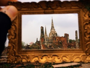 Wat Phra Si Sanphet Ayutthaya, Thailand Photo by Kelly Frazee