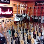 If you're ready to start rocking, you can pick up a guitar next door. Photo by geocacher PiRad-ler