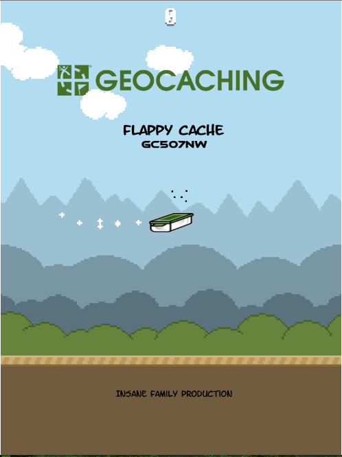 Play the game to get the geocache!