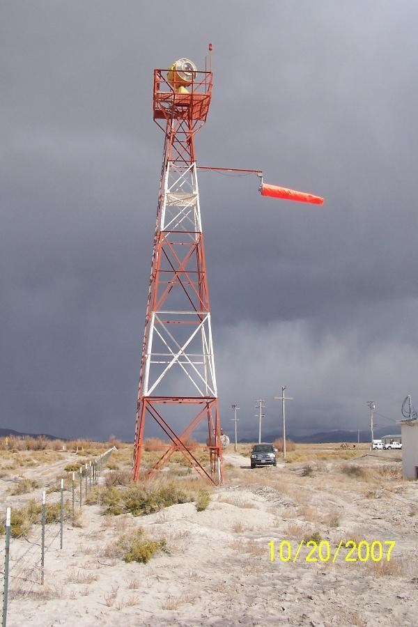 This beacon was actually restored and is in use. Photo by geocacher Nitro929