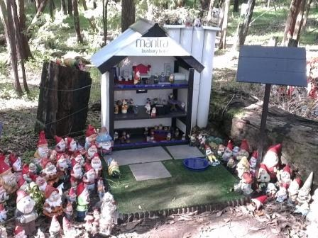 We've heard of TB hotels, but this is a Gnome hotel. Photo by geocacher Luna Maya