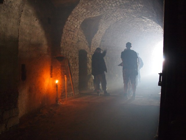 Inside the tunnels of Terezin