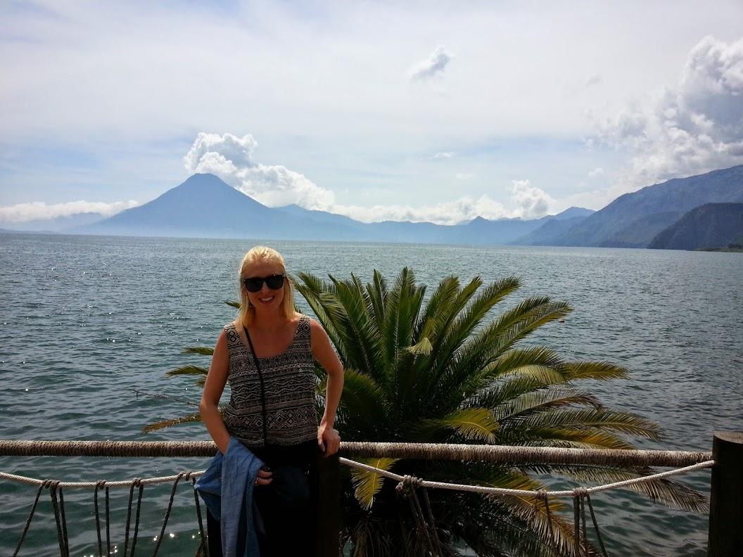 Myself and Lake Atitlan