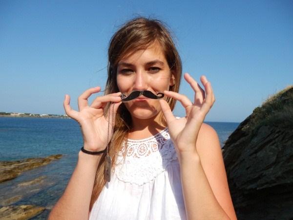 TB214CA  PCTM - Picture Crazy Travel Mustache
