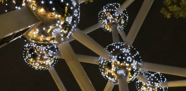 "Here you'll find GC1EG4C, also known as ""Atomium""."