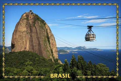 Brazil Geocaching Souvenir will be officially released on Monday, December 22, 2014