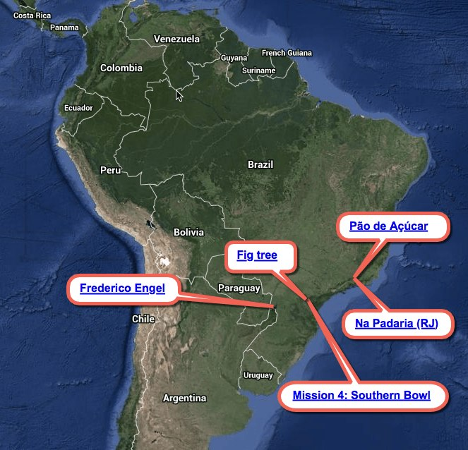 Five Wonderful Geocaches from Brazil