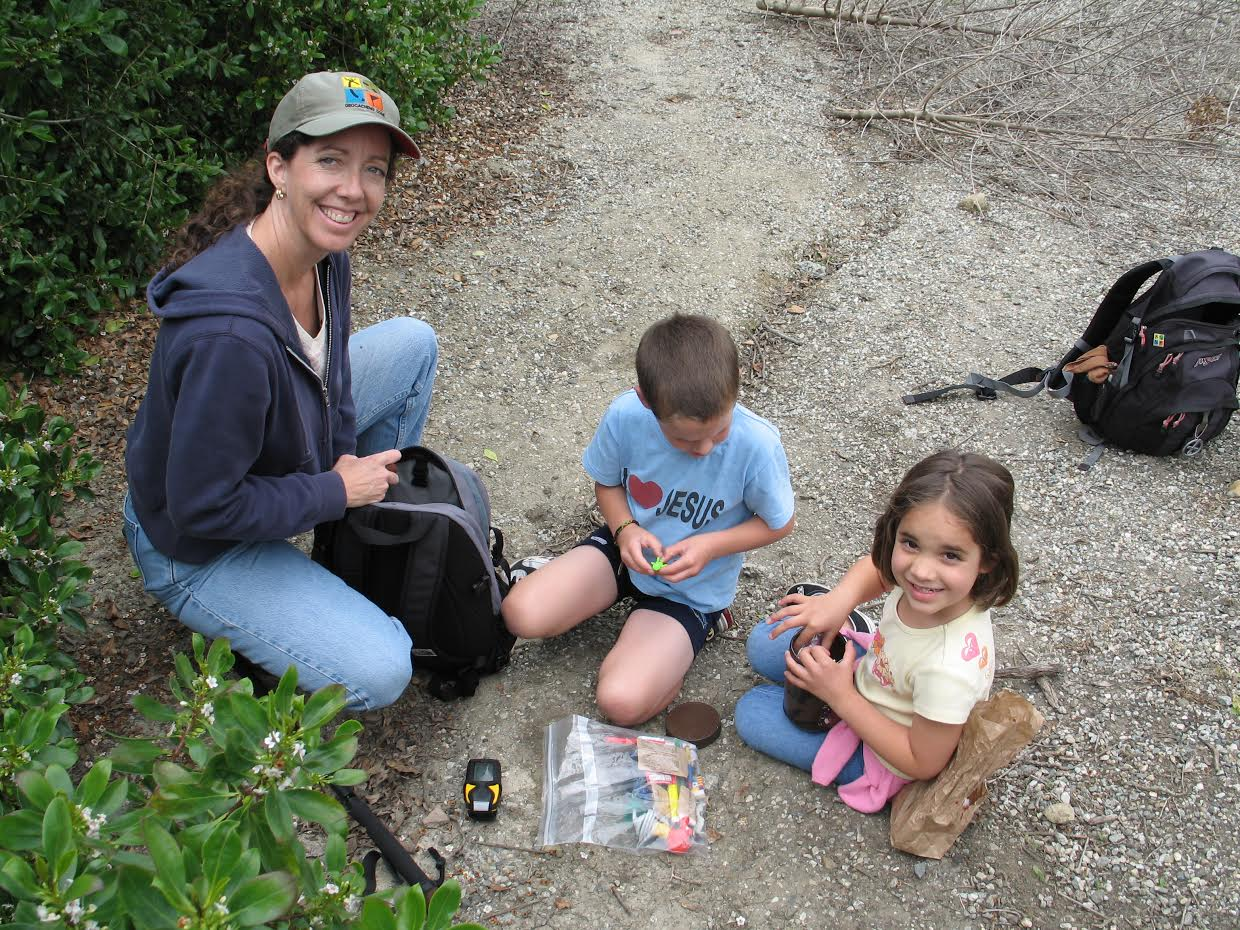 geocaching with kids 1
