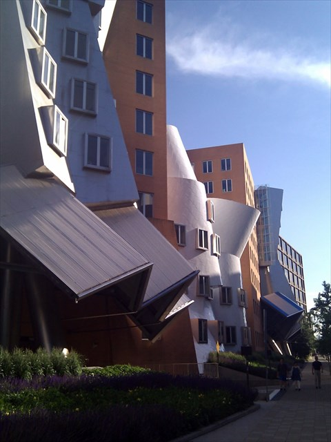 "Frank Gehry's ""The Stata Center"" Photo by geocacher niraD"