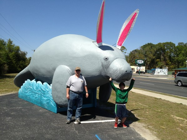 Rabbitee? Manabbit? Either way, here's Bubbles. Photo by geocacher Teachbs65