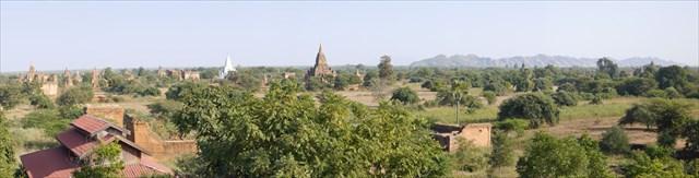 A view of Bagan. Photo by geocacher Dirkverschuren