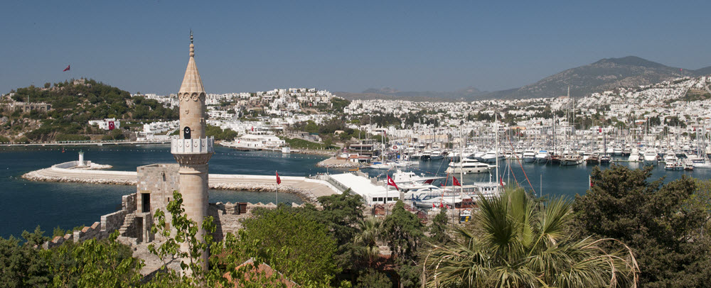 Bodrum is located in the southwest Aegean Region of Turkey