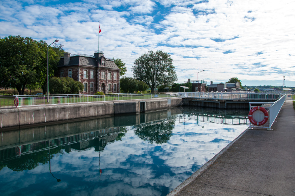 The Sault Canal (GC45GNN) is just one historic site along the Sault Ste. Marie's waterfront