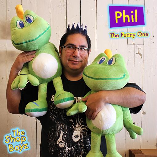 Phil the Fulfillment/Customer Care Specialist and a Scorpio