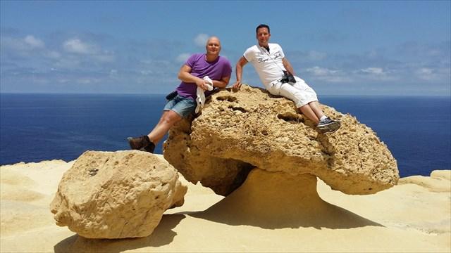 GC5G7A7 - G.P.S. I. NORTH COAST WALK - The Mushroom Rock