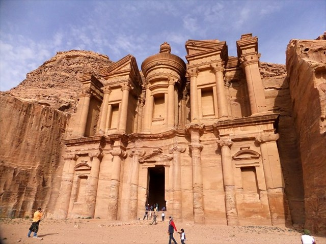 The famous city of Petra