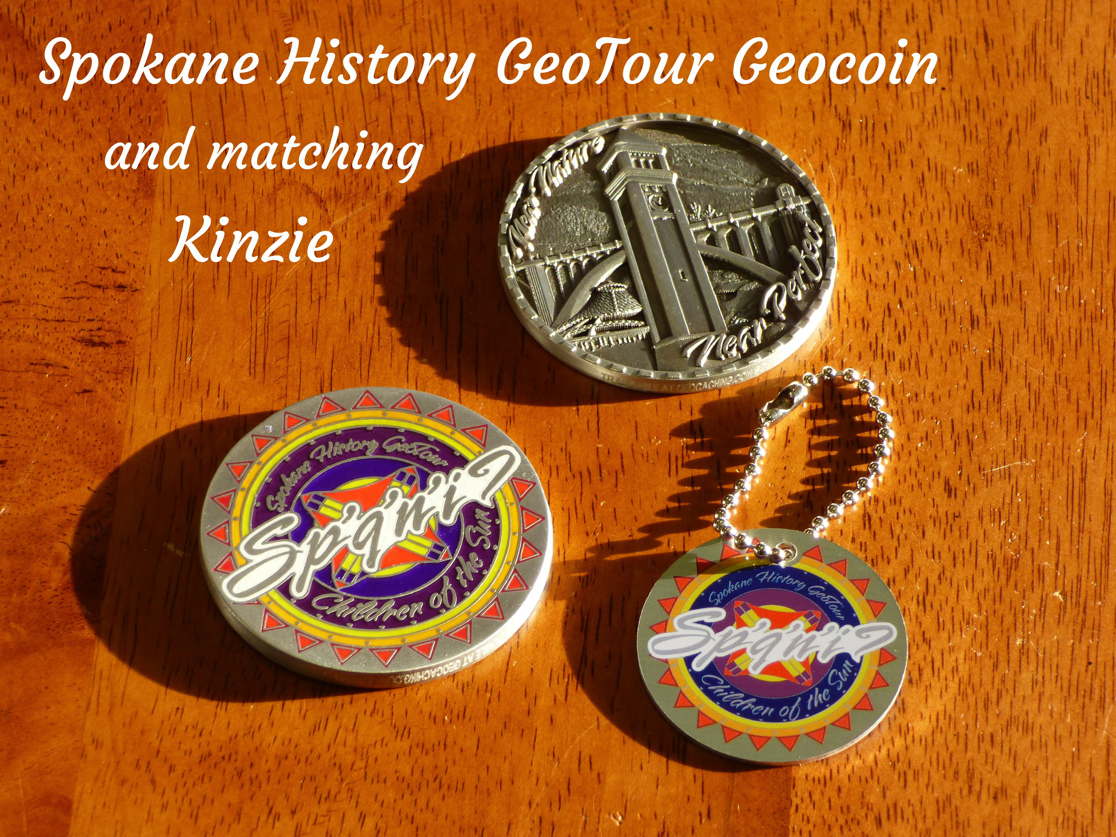 Geocoin: The Prize for earning 100 points on the Passport