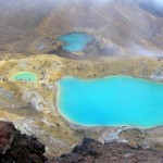 """View of """"The Emerald Lakes"""""""