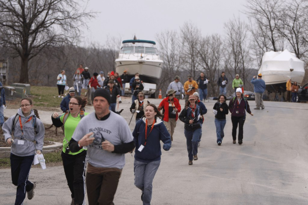 The geocaching competition yielded over 61 teams and 46 individual competitors participated in this year's competition.  Winners are listed at the MOGA 2013 (GC3GN2E). Congratulations to all those dedicated geocaching athletes who participated in this amazing adventure.