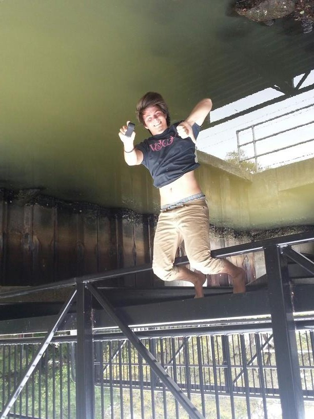 Upside-down or right-side-up geocaching can lead you to some heart racing location.