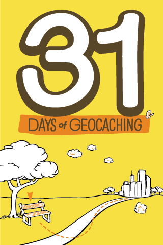 31 Days of Geocaching Souvenir