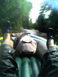 Tubing the Credit River