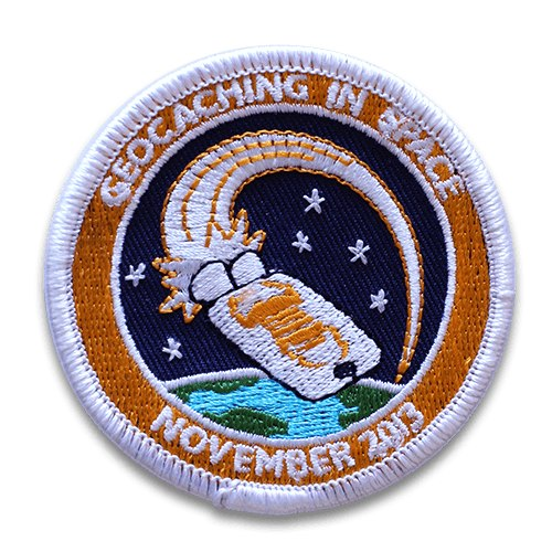 New Geocaching in Space Mission Patch