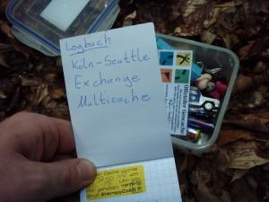 Found it! Photo by geocacher Aga & Deti