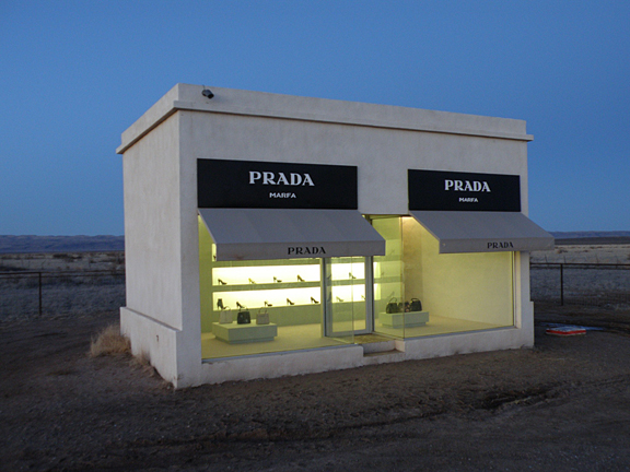 Prada, Marfa. Photo by geocacher winini