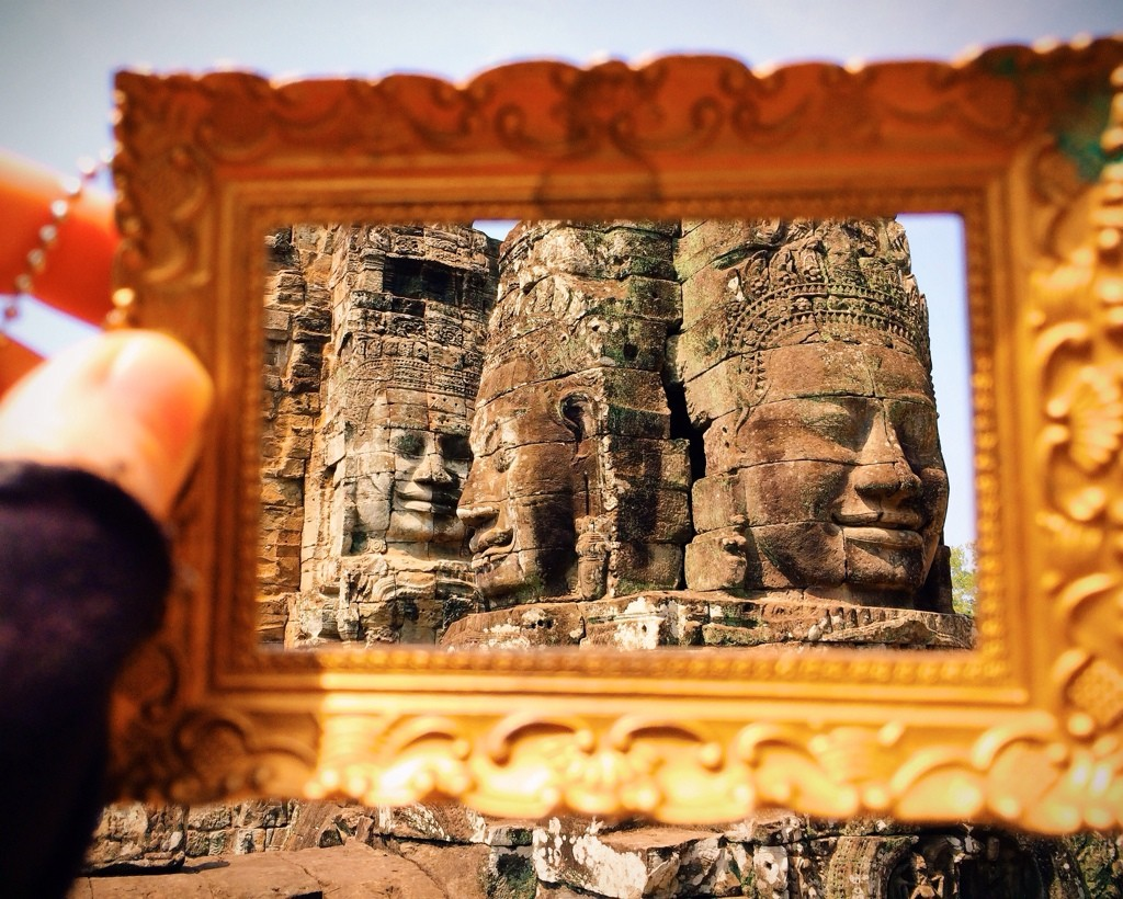 Bayon Temple Siem Reap, Cambodia Photo by Kelly Frazee