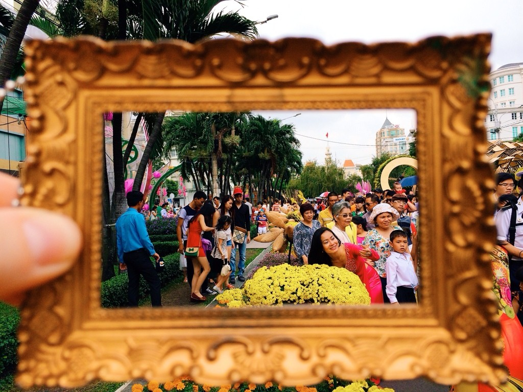 Downtown Ho Chi Minh City, Vietnam Photo by Kelly Frazee