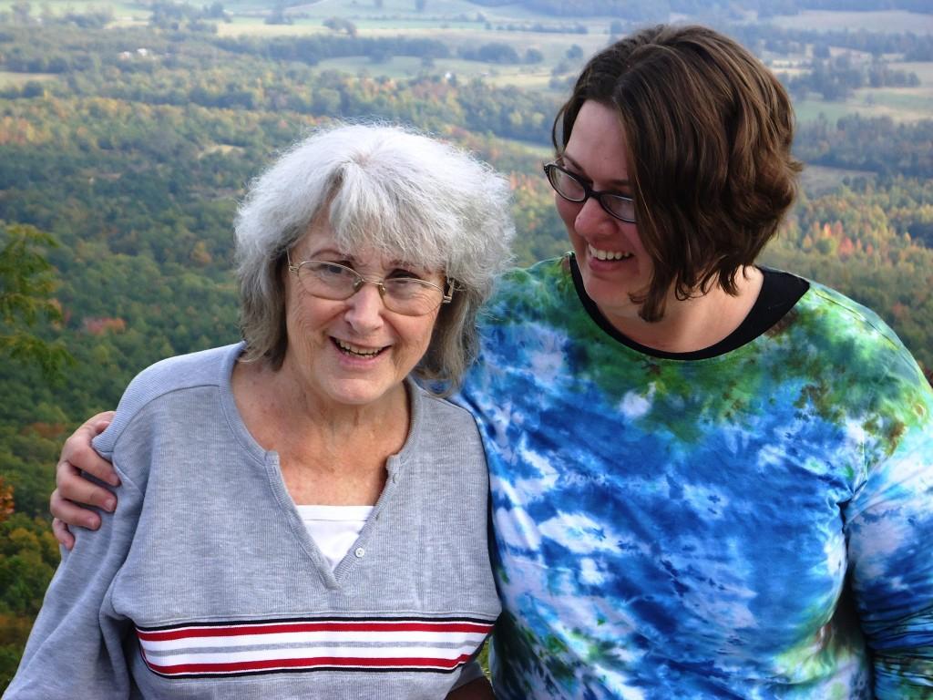 Carol and Kristie