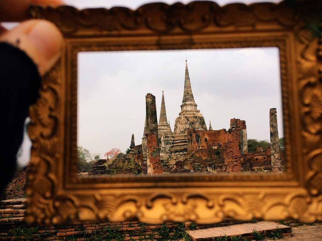 Wat Phra Si Sanphet Ayutthaya, Thailand Photo by Kelly Frazee