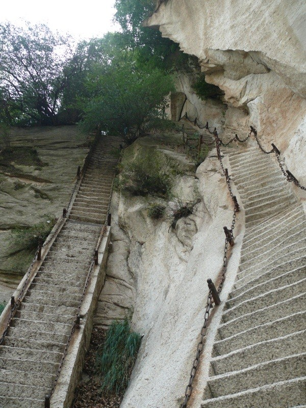 The heavenly steps. Photo by geocacher klingac