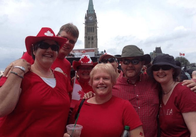 Canada Day with reviewers CacheViewer, GeoawareCA, and CacheShadow