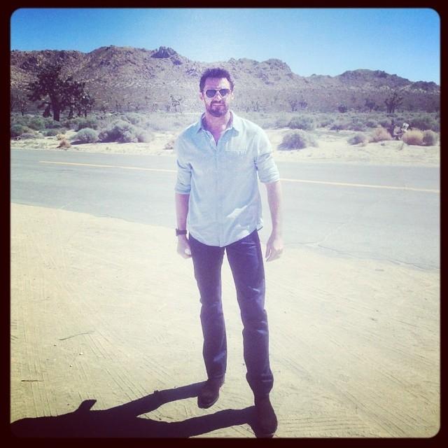 The wolverine himself geocaching in Australia