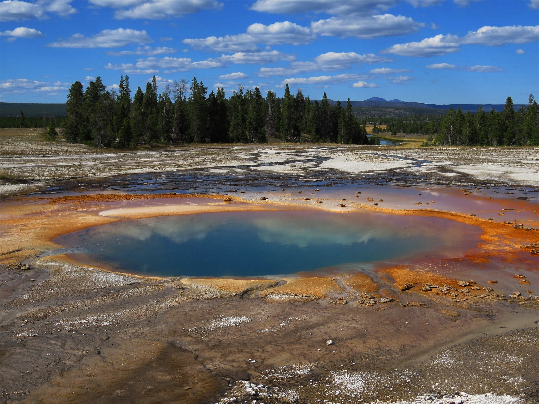 Rainbow's End: Grand Prismatic Spring, Wyoming, GC1JY47